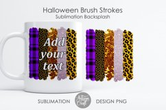 Brush stroke PNG, Halloween sublimation, Leopard Print Product Image 1