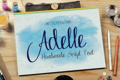 Adelle Script Typeface Product Image 1