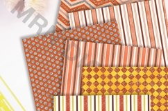 Orange Marmalade Digital Paper Pack Product Image 3