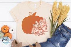Floral Fall Bundle   Autumn Flower SVG Cut Files Product Image 5