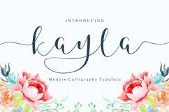Kayla Script Product Image 1
