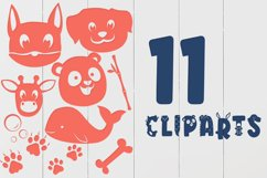 Big Little Creatures - Animal font with EXTRAS Product Image 4