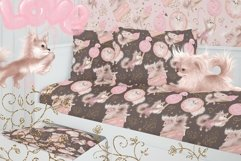 Cute dogs. Sweet pink dreams Product Image 6