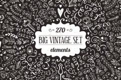 270 elements Vintage Decorations Set Product Image 1