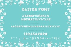 Easter Spring display fonts - Trio Product Image 4