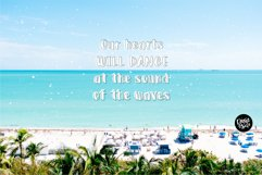 SUNNY BEACHES Sans and Outline Font Duo Product Image 3