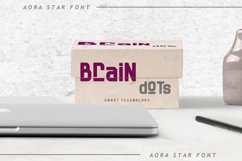 Aora star Font Product Image 3