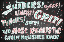 Realistic Photoshop Chalk Brushes! Product Image 4