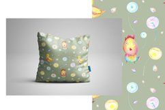 Watercolor Easter seamless patterns Product Image 4