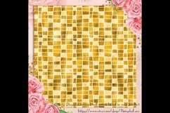 254 Seamless Metallic Foil Mosaic Digital Papers 12x12 inch Product Image 4