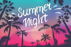 Summer Night Font Product Image 1