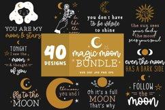 Moon Svg Bundle   Lunar Cycle Svg   Magic Svg Cut Files Product Image 1