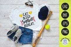 Softball Bundle Vol 1 | Set of 9 | SVG DXF EPS PNG Product Image 5