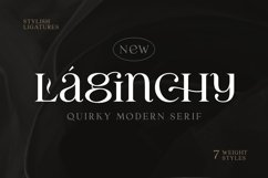 Laginchy - Quirky Serif Product Image 1