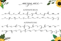 Megan Nice - Modern Script and Monogram Product Image 4