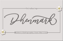 Dhenmark Font Duo Product Image 2