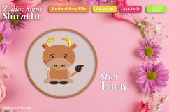 Zodiac signs - Embroidery Files - Bundle Product Image 6