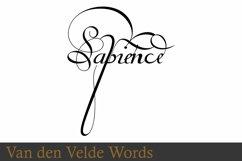 Van Den Velde Words Product Image 3