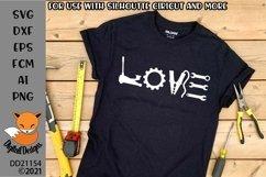 Car Mechanic Love SVG Product Image 1