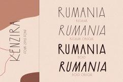 Kenzira - A Hand Drawn Art Deco Font Product Image 3