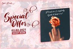 Valentine Sweet - WEB FONT Product Image 5