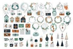 Christmas Art illustration, Nursery art Product Image 4