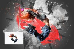 Poster Maker photoshop action Product Image 7