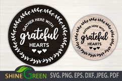 Fall Bundle Fall SVG Round Sign Farmhouse Home Thanksgiving Product Image 4