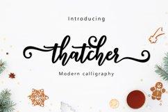 Thatcher script Product Image 1