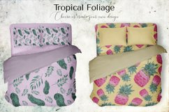 Tropical Foliage Watercolor Set Product Image 8