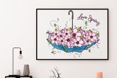 Love Spring PNG, Spring Is Here Product Image 6