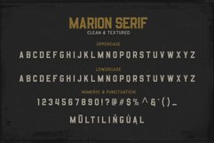 Marion 5 Font Product Image 6