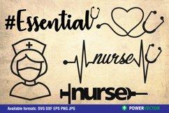 Nurse SVG Files Clipart Product Image 1