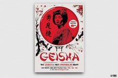 Geisha Party Flyer Bundle V2 Product Image 5