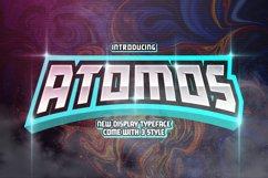 Atomos Display Typeface Product Image 1