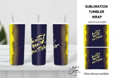 20 Oz Skinny Tumbler Mental healh matters sublimation png Product Image 1