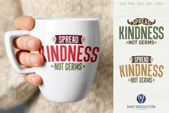 Spread Kindness SVG files, printables, sublimation Product Image 6