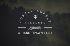 Arbour - Hand Drawn Font Product Image 2