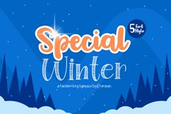 Special Winter 5 Font Product Image 1