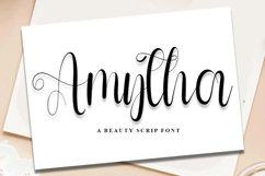 Amytha - A Beauty Script Font Product Image 1