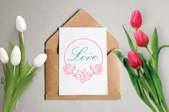 Magnolia Frame SVG, Floral Clipart, Flower Wreath Product Image 3