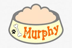 Lucky Paw Font | Pet Paw Font | bones and paw Letters Product Image 2
