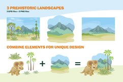 Dinosaurs. Vector clip arts. Product Image 4
