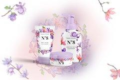 Amazing magnolia JPG watercolor flower set Product Image 2