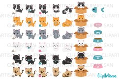 Kittens Clipart Cute Kitty Cats Kitties Pets Graphics Product Image 2