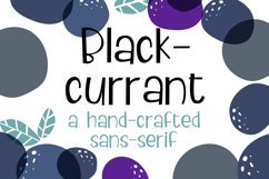 ZP Blackcurrant Product Image 1
