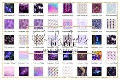 Blue Shades BUNDLE digital paper pattern Product Image 2