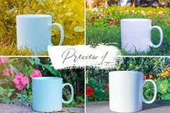 7 Photoshop Mug Mockups and 11 high quality PNG Images Product Image 3
