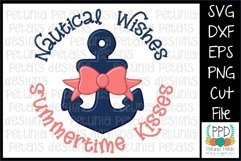 Nautical Wishes Summertime Wishes SVG 11274 Product Image 1