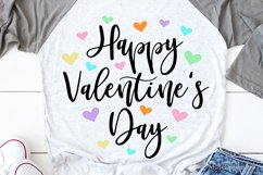 Happy Valentines Day Svg, Sweethearts Love Svg, Kids Svg Product Image 1